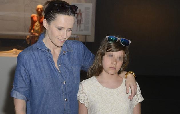 Monika z córką /- /MWMedia