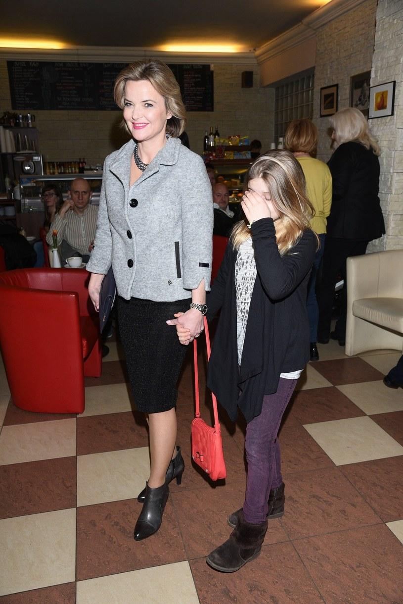 Monika z córką /- /East News