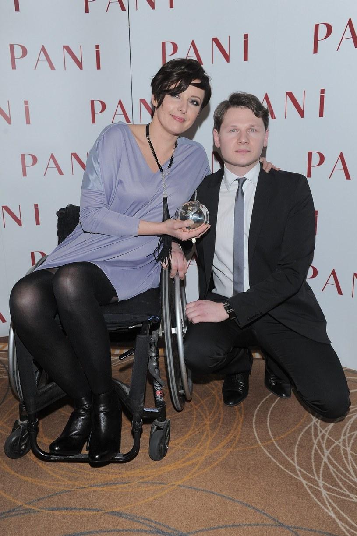 Monika z mężem /- /East News