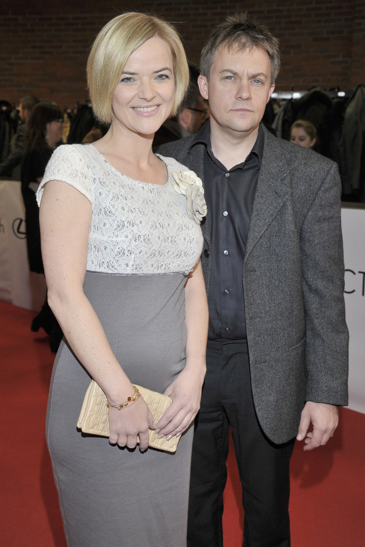 Monika Zamachowska i Jamie Malcolm w 2011 roku /Baranowski /AKPA