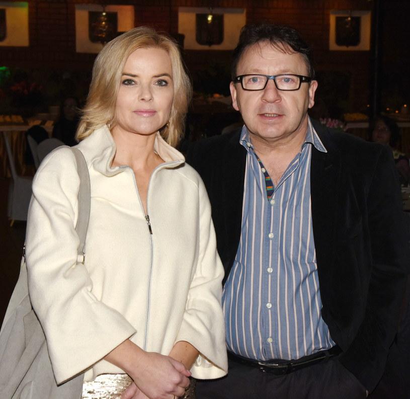 Monika Zamachowska i Zbigniew Zamachowski /Zenon Zyburtowicz /East News