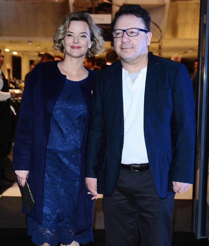 Monika Zamachowska i Zbigniew Zamachowski /MWMedia