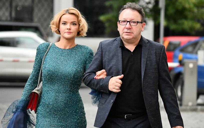 Monika Zamachowska i Zbigniew Zamachowski /Mateusz Jagielski /East News