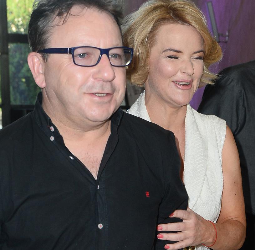 Monika Zamachowska z mężem Zbigniewem /Jarosław Antoniak /MWMedia