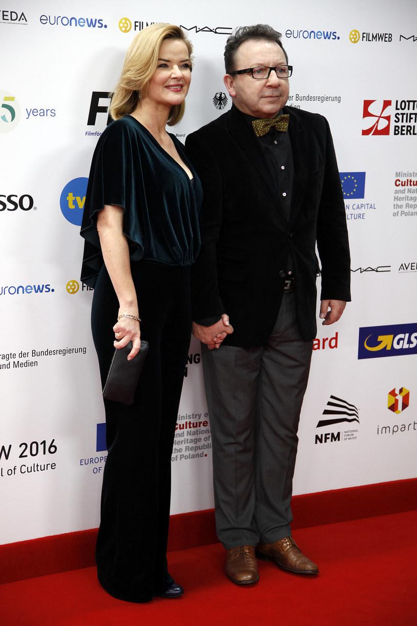Monika Zamachowska, Zbigniew Zamachowski /Telus /AKPA