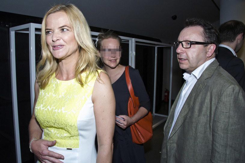 Monika ze Zbyszkiem i Marią /Grudniewski /East News