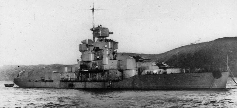 """Monitor """"Chasan"""" w czasie II wojny światowej /Archiwum Marynarki Wojennej FR /INTERIA.PL/materiały prasowe"""