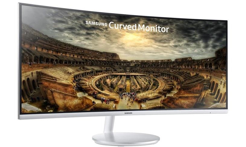 Monitor Samsung C34F791 /materiały prasowe