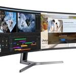 Monitor Samsung CRG9 - gamingowy flagowiec z Dual QHD i matrycą 49 cali