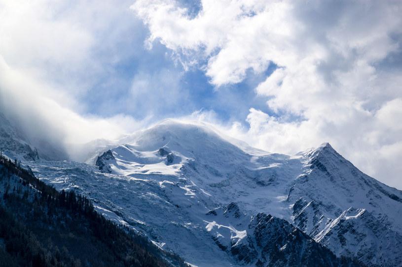 Mont Blanc skurczył się o 92 cm w ciągu 4 lat /123RF/PICSEL