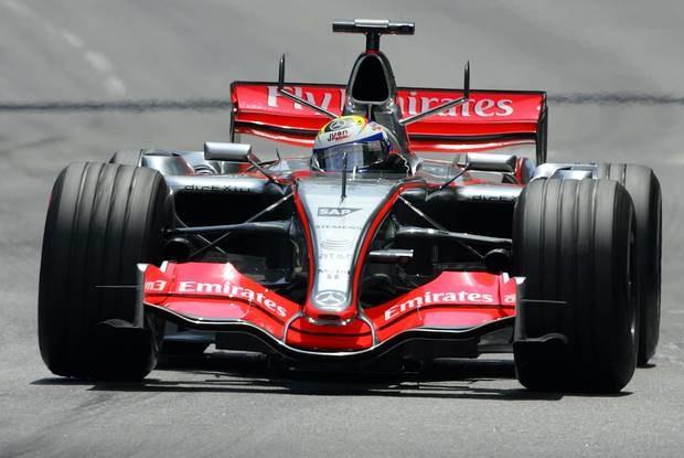 Montoya dojechał na 2. miejscu / Kliknij /AFP