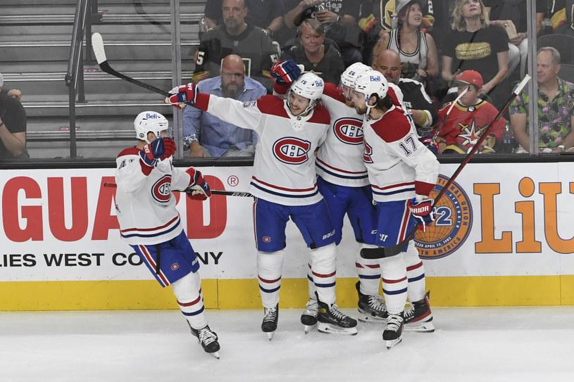 Montreal Canadiens już niebawem mogą zameldować się w finale Pucharu Stanleya /FR170737 AP/Associated Press/East News /East News