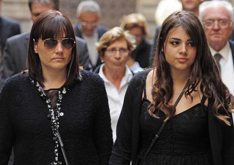 Montse Chaure-Vilanova i jej córka Carlota /AFP