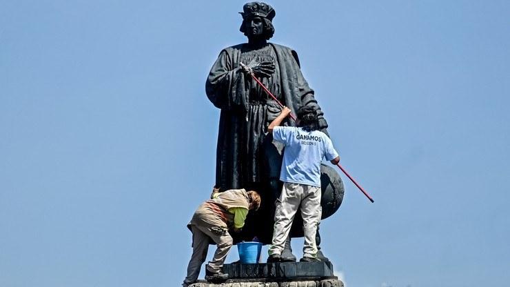 Monument Krzysztofa Kolumba zastąpi prekolumbijska rzeźba /PEDRO PARDO/AFP /East News