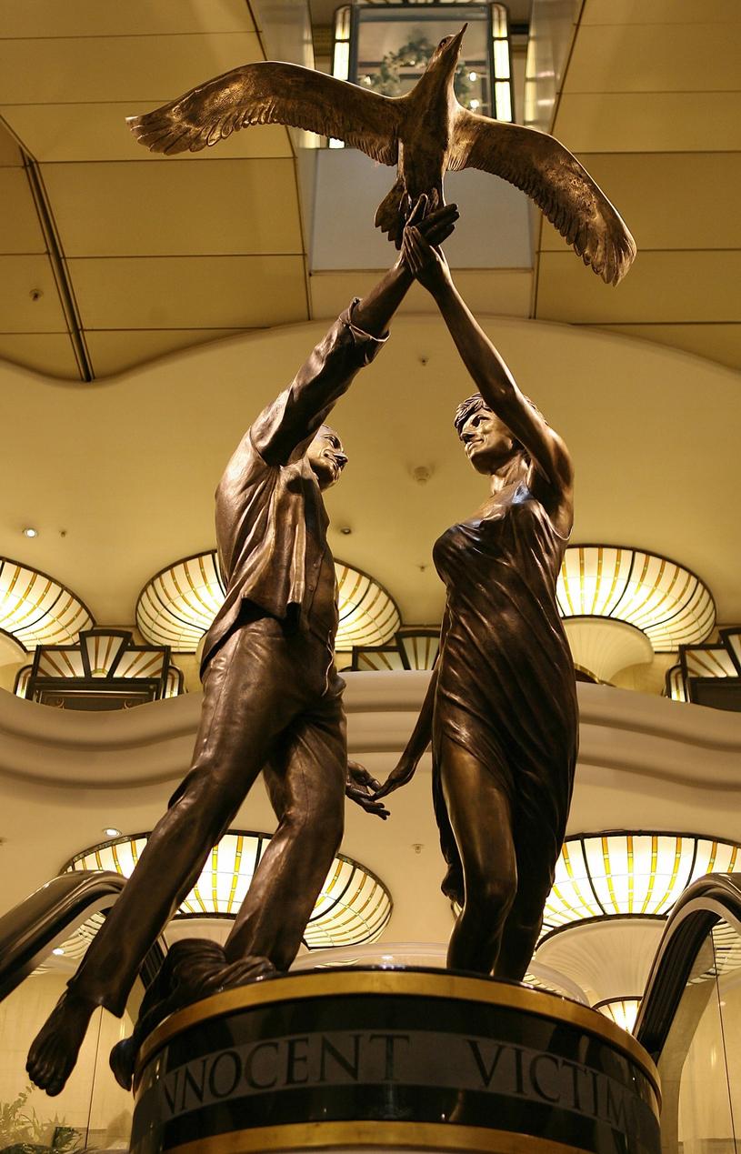Monument ku czci księżnej Diany i Dodegoi al-Fayeda, dom towarowy Harrods /JOHN D MCHUGH /East News