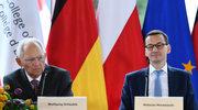 Morawiecki i Schaeuble w Natolinie o przyszłości Europy