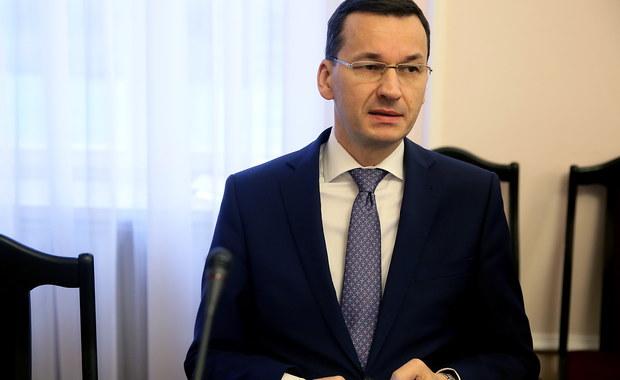 Morawiecki: Jestem zakochany w Polsce. Chcę, żeby była krajem silnym i zamożnym