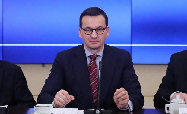 Morawiecki: Na spotkaniu Grupy Wyszehradzkiej chcemy wypracować rozwiązania ws. koronawirusa