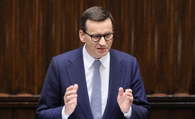 Morawiecki napisał list do przywódców UE