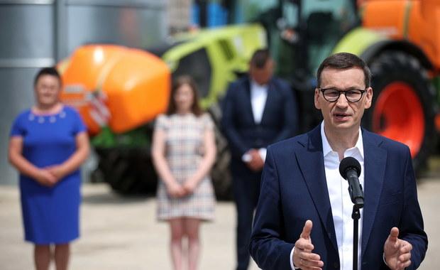Morawiecki o Polskim Ładzie: Odchudzimy biurokrację dla rolników