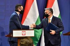 Morawiecki po spotkaniu z Orbanem: Nie zawahamy się użyć weta - dla dobra UE