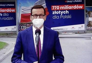 Morawiecki: Polską racją stanu jak najszybsze przyjęcie ustawy o zasobach własnych UE