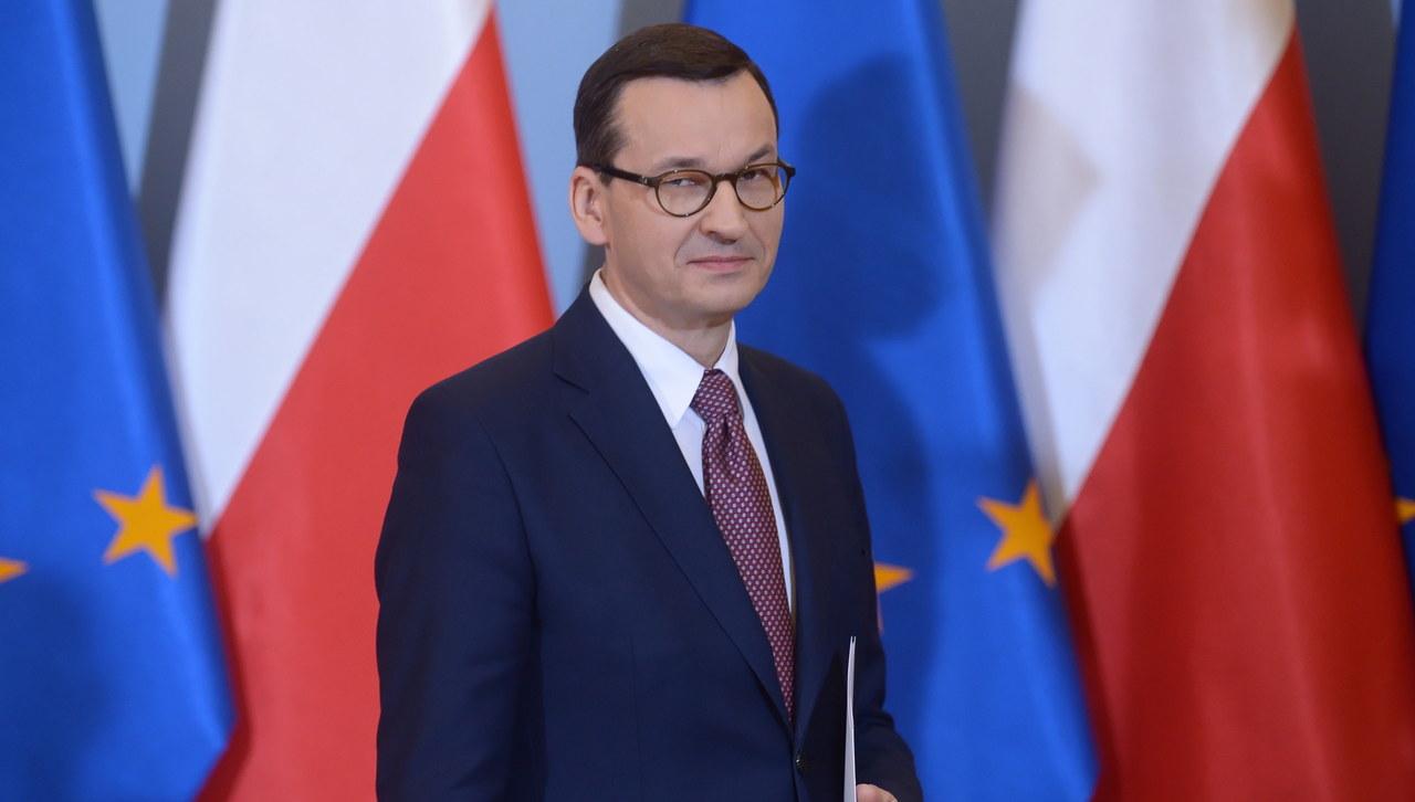 Morawiecki: Rząd przyjął projekt budżetu na 2020 rok bez deficytu