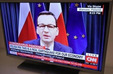 Morawiecki w CNN: Szczyt pandemii jeszcze przed nami