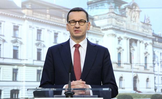 Morawiecki: W kwestii koronawirusa chcemy się wymieniać doświadczeniami