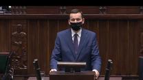 Morawiecki w Sejmie: Mamy do czynienia z drugą falą koronawirusa, być może grozi nam trzecia (Polsat News)