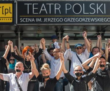 Morawski szefem Teatru Polskiego; milczący protest artystów