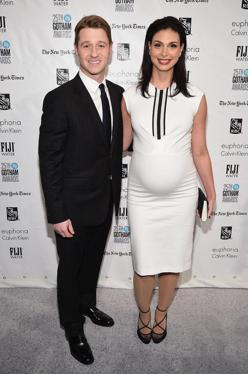 Morena Baccarin z partnerem Benjaminem McKenziem /Bryan Bedder /Getty Images