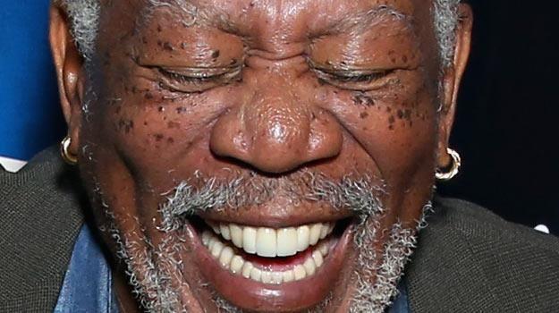 Morgan Freeman jest zwolennikiem legalizacji marihuany - fot. Cindy Ord /Getty Images