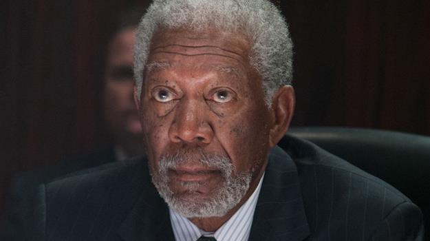 """Morgan Freeman w scenie z filmu """"Olimp w ogniu"""" /materiały dystrybutora"""