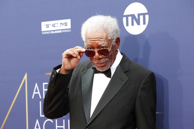 Morgan Freeman /NINA PROMMER    /PAP/EPA