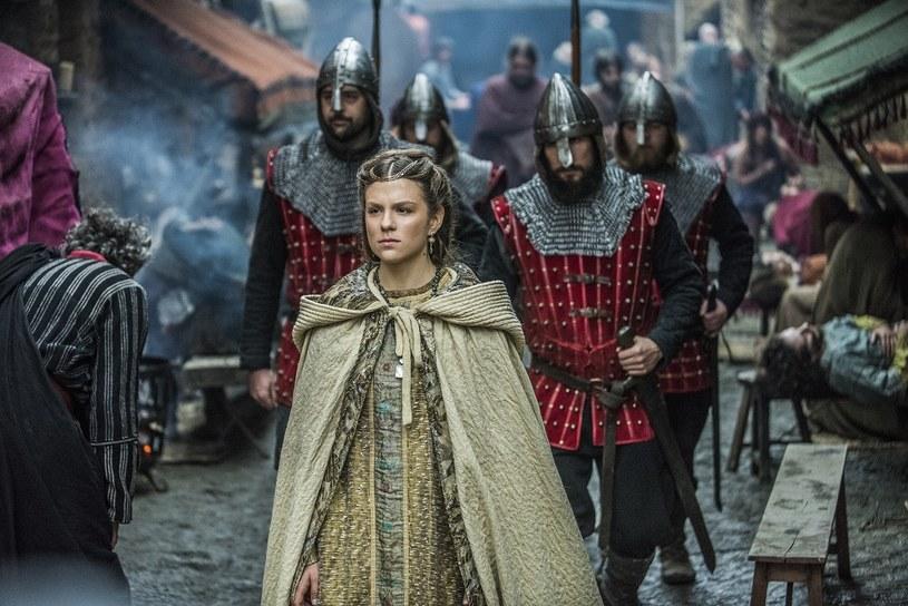 """Morgane Polański w serialu """"Wikingowie"""" /History  /materiały prasowe"""