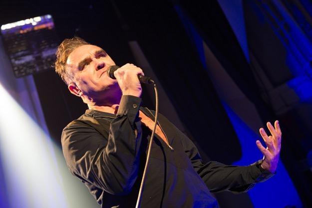 Morrissey był frontmanem legendarnej grupy The Smiths - fot. Mike Pont /Getty Images/Flash Press Media