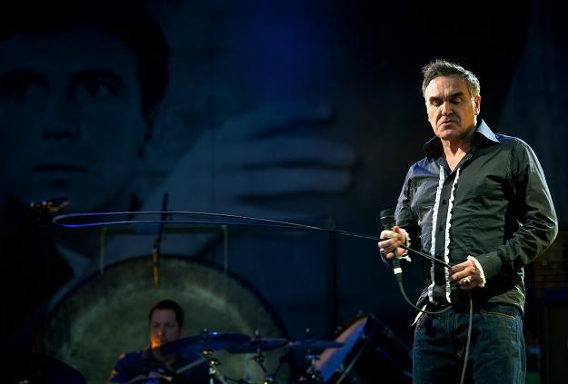 """Morrissey znów atakuje """"najbardziej bezużytecznych ludzie na kuli ziemskiej"""" fot. Ian Gavan /Getty Images/Flash Press Media"""