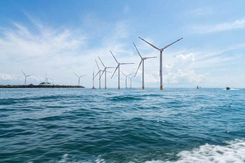 Morskie farmy wiatrowe mają ogromny potencjał /123RF/PICSEL