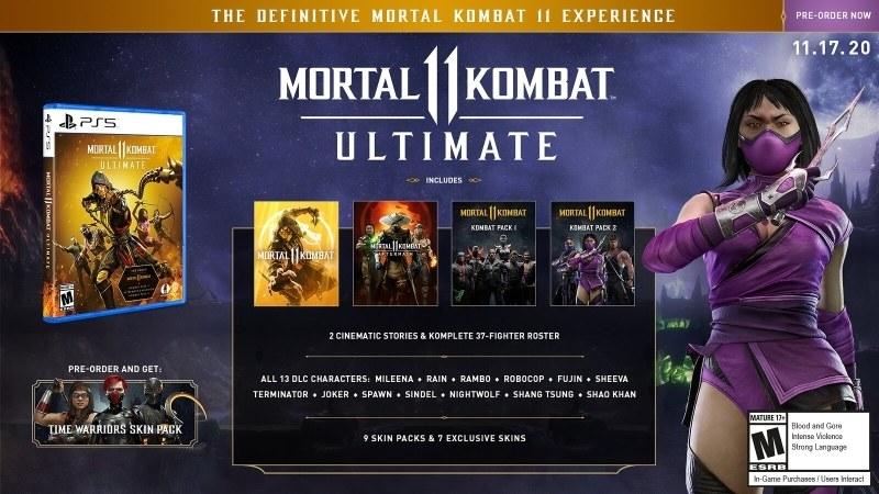 Mortal Kombat 11 Ultimate /materiały prasowe