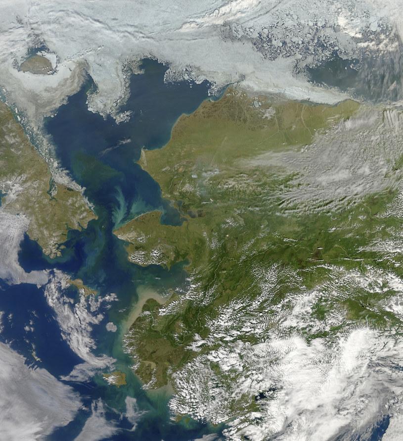 Morze Beringa oddziela Rosję od amerykańskiej Alaski /NASA/Science Photo Library /East News