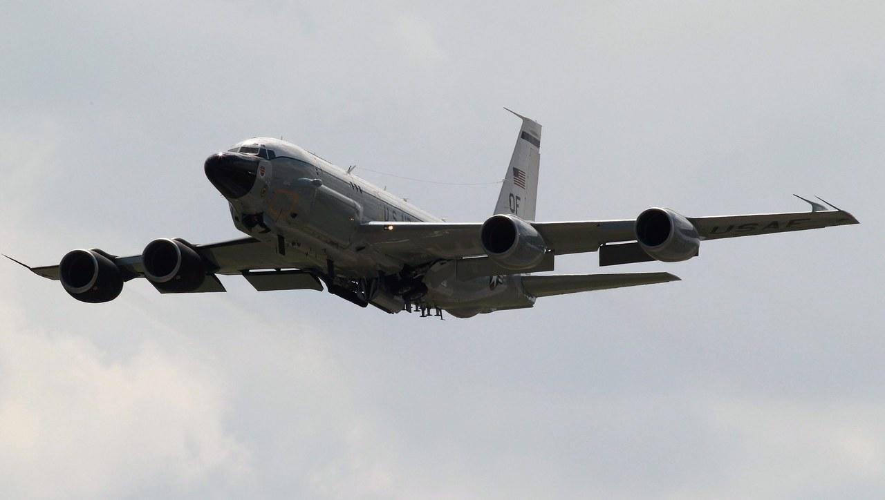 Morze Czarne: Misja obserwacyjna samolotu armii USA