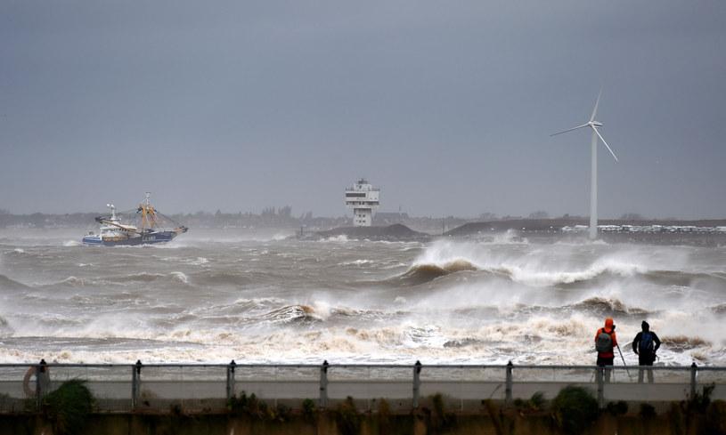 Morze Północne, zdj. ilustracyjne /PAUL ELLIS / AFP /East News