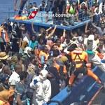 Morze Śródziemne: Włosi uratowali ponad 4 tys. imigrantów przed zatonięciem