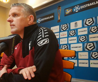 Moskal po 0-0 z Wisłą Kraków. Wideo