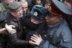 Moskiewska milicja rozpędziła opozycję
