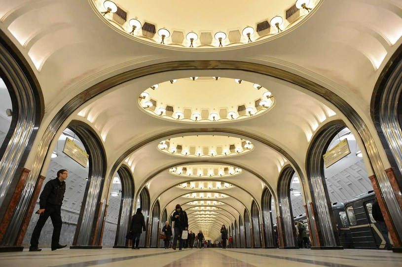 Moskiewskie metro /AFP