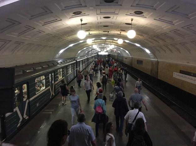 Moskiewskie metro /Mateusz Chłystun /RMF FM