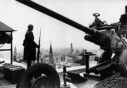 """Moskwa 1941 - """"W tych dniach Niemcy mogli zająć stolicę praktycznie bez walki"""" /AFP"""