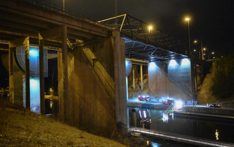 Most, gdzie zginęli członkowie Viola Beach /AFP / TT News Agency / JOHAN NILSSON /East News